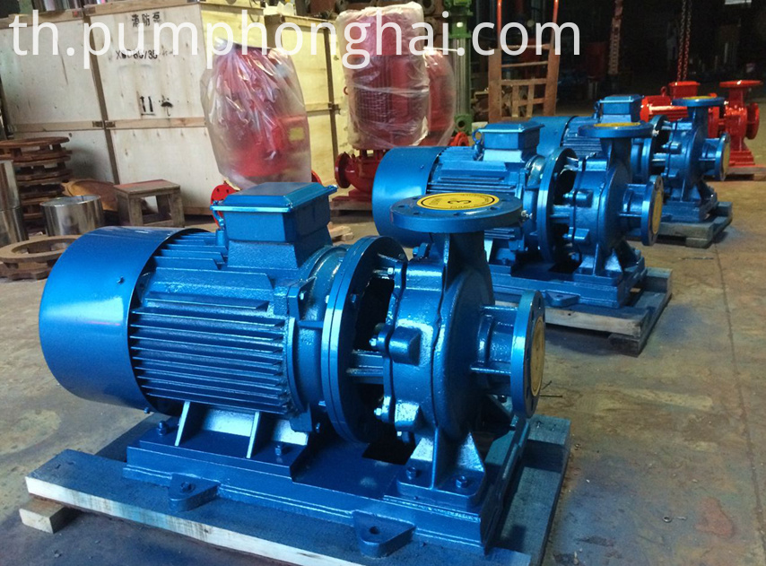 ISW series general electric industrial large water pumps