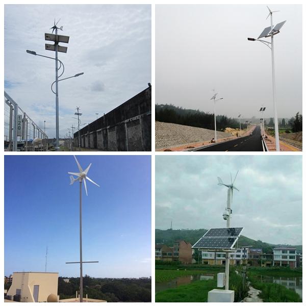 300W Micro Wind Turbine Generator 12V/24V DC 5 Blades Nylon Fiber, Residential Agriculture Marine DIY Installation off-Grid Green Energy