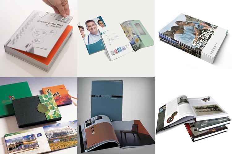 Manufacturer Colorful Book Printing Brochure