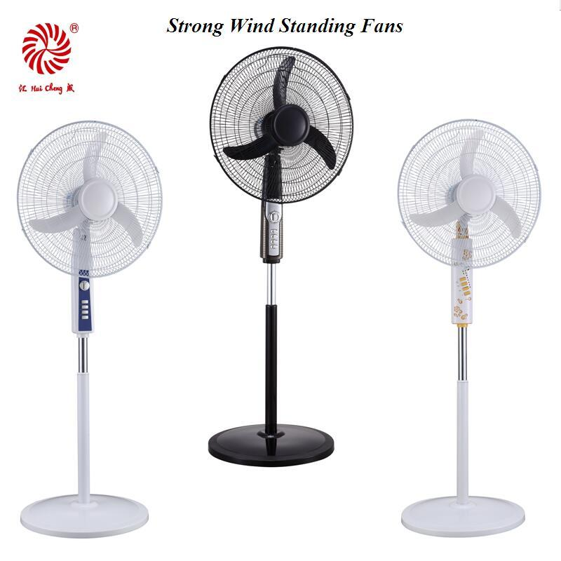 Popular Electric Pedestal Fan for Household with Strong Wind