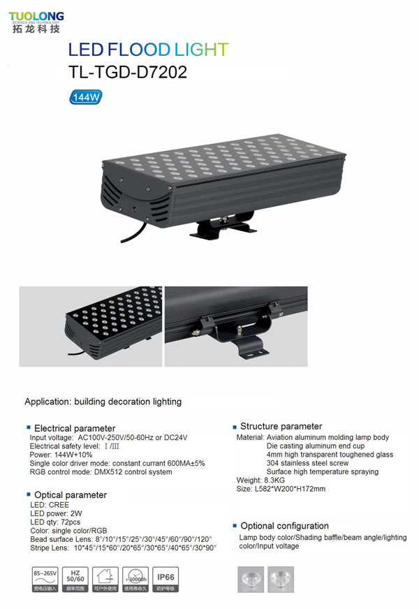 Floodlight High Power with CREE LED 150W