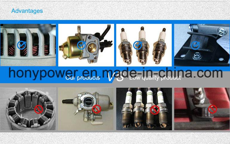Small Portable Recoil Electric Gasoline Generator