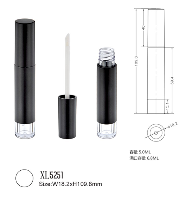 Luxury Makeup Packaging Magnetic Matte Mascara Plastic Tube for Makeup