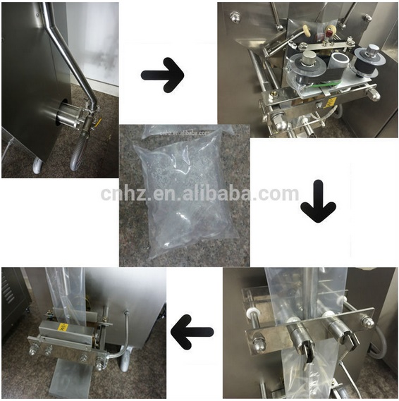 Factory Fostream Sachet Water 500ml Filling and Sealing Machine with 220V