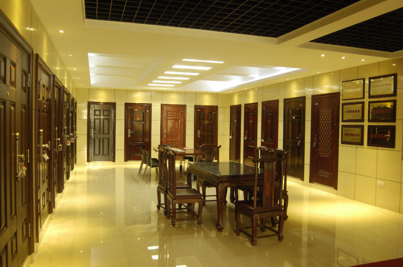 Interior Door Solid Wooden Door China Manufacture (FD-1009)