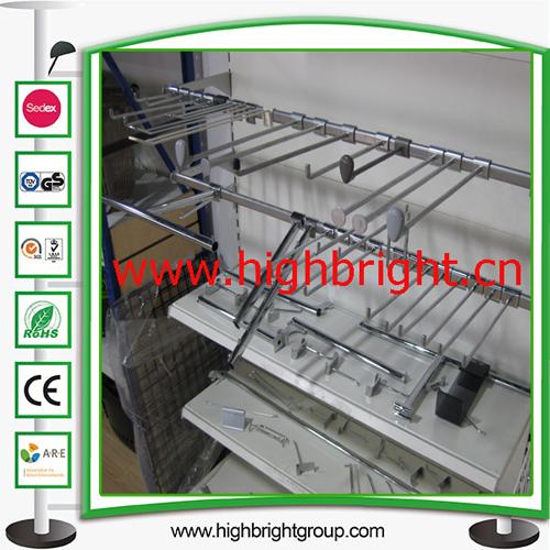 Double Wire Metal Display Loop Hook for Shelves