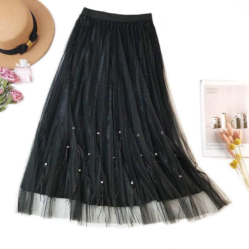 Women Gauzy Skirts