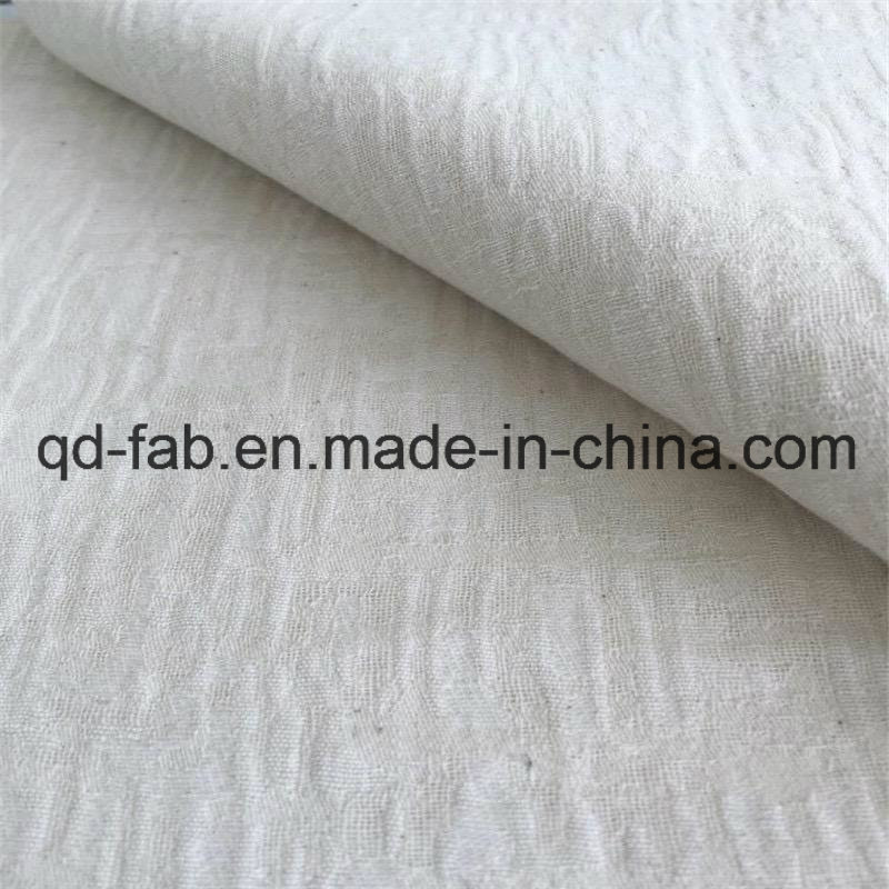 32%Linen68%Cotton Knitted Jacquard Fabric (QF16-2511)