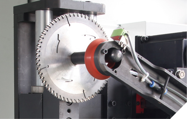 MLC-300b Full Automatic Side Angle Saw Blade Sharpening Machine (Robot Arm)