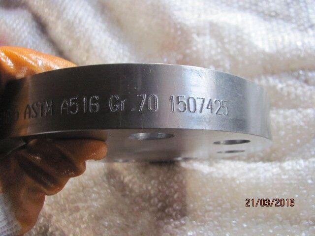 A516 Gr. 70 Blind Flange RF
