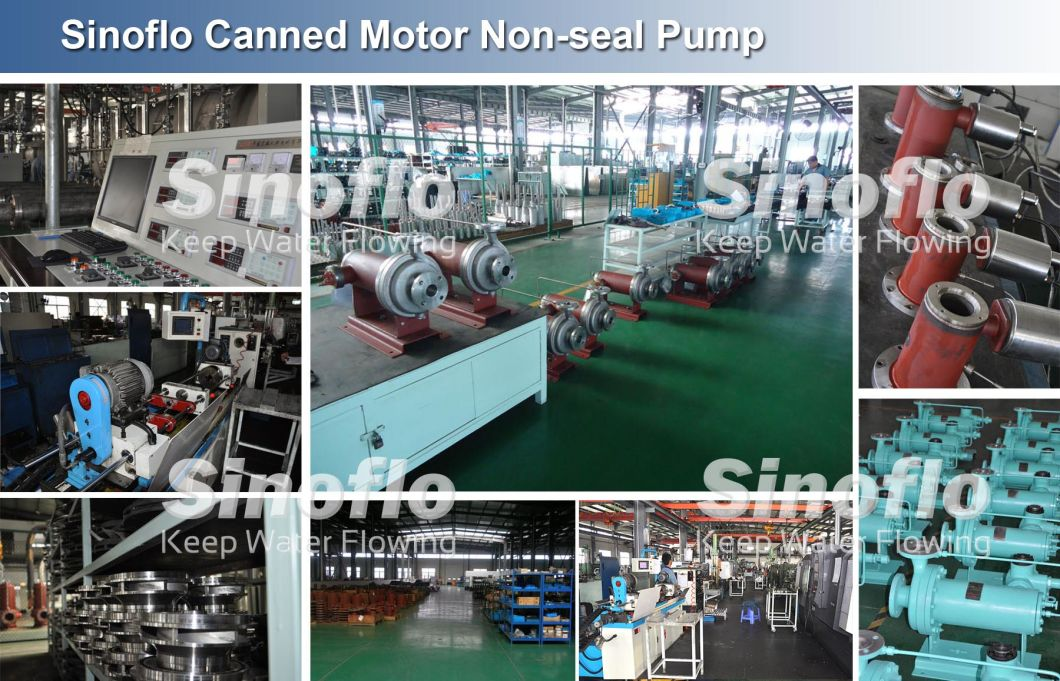 No Leakage Hand Oil Chemical Processing Canned Motor Shield Pump