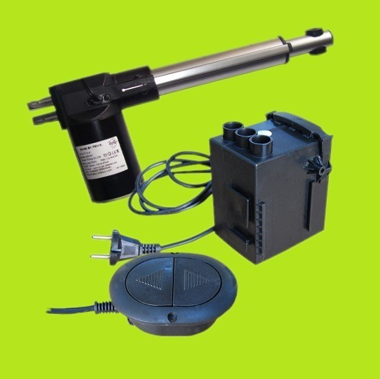 Waterproof Protect Feature and Permanent Magnet Construction Linear Actuator