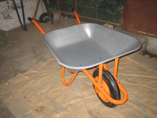 Building South Africa Model Solid Green Wheel Barrow Wb3800