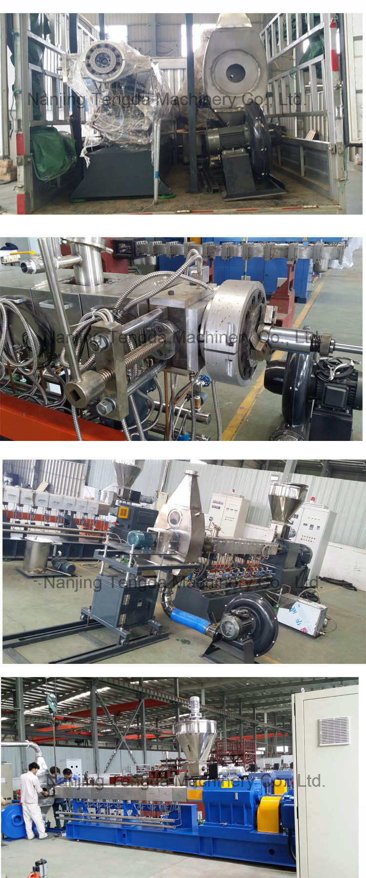 Compounding Recycle Different Type Screw Extruder
