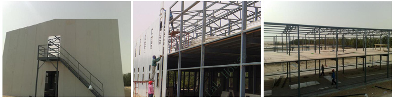 High-Rise Steel Structure Building