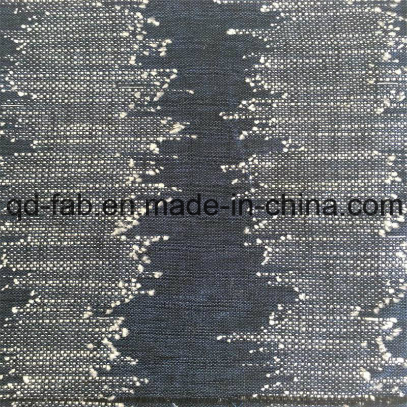 40%Linen60%Cotton Yarn Dyed Fabric for Jacquard (QF16-2515)
