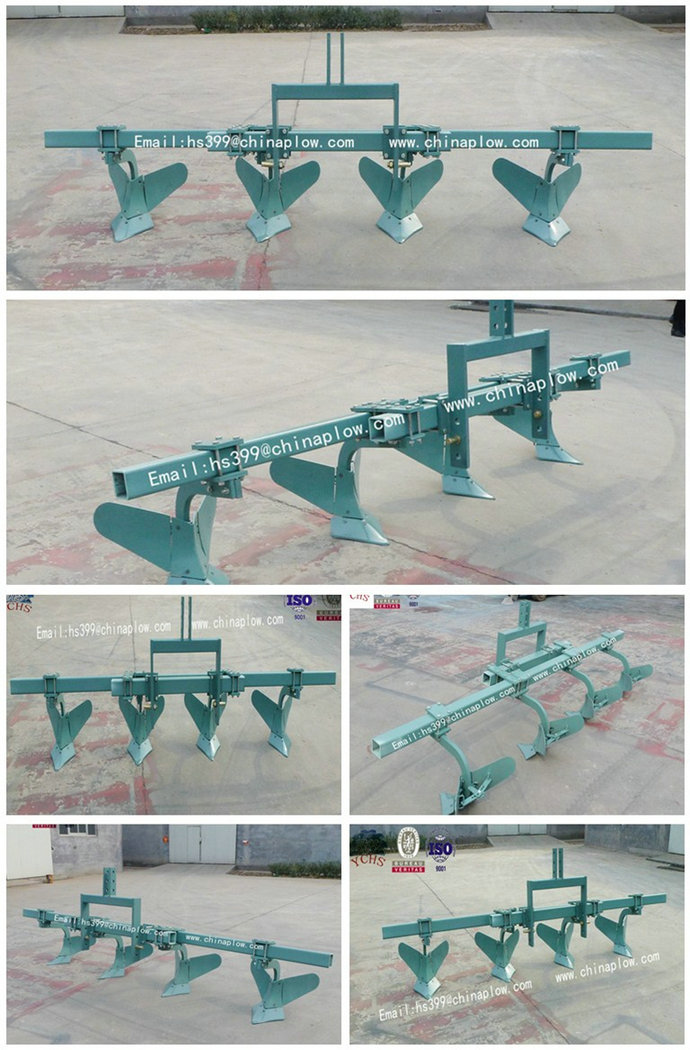 New High Quality Potato Ridging Plough Implement for Foton Tractor