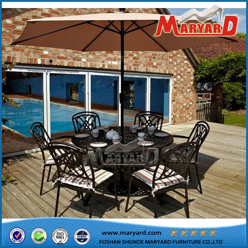Dining Table Set Modern Dining Set Cast Aluminum Chairs