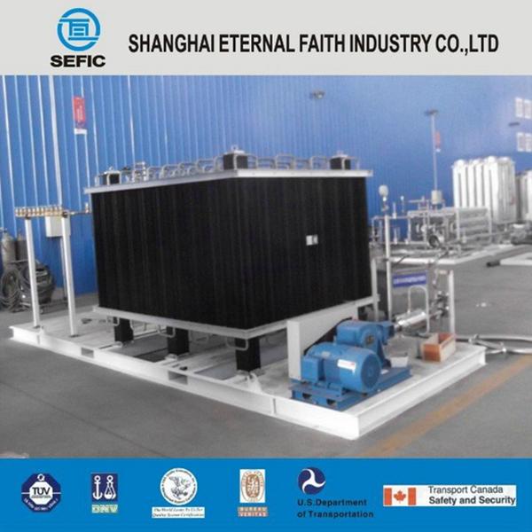 2014 High Pressure Oxygen Gas Filling Station Skid (SEFIC-400-250)