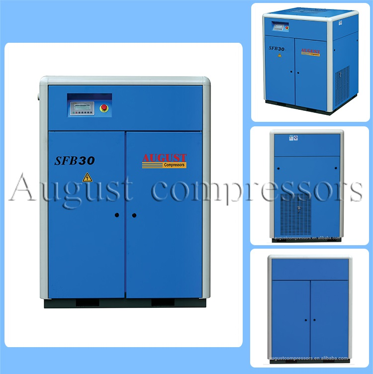 Sfb30kw/40HP August Stationary Air Cooled Screw Compressors