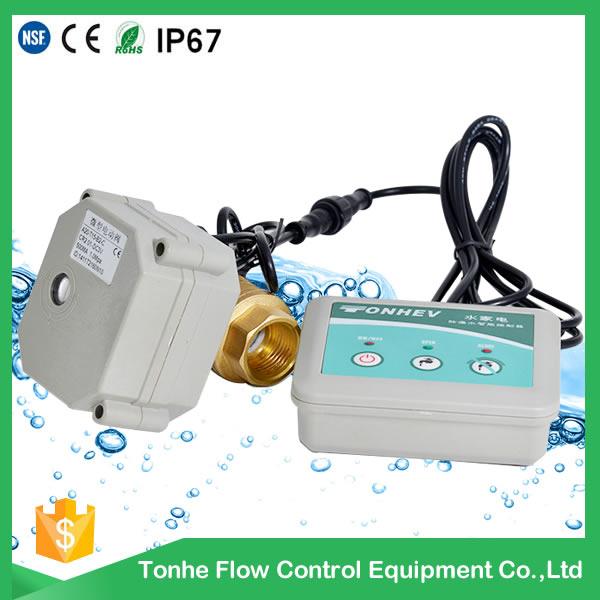 Dn20 with Indicator Brass Sensor Water Leak Detection Detector System Valve