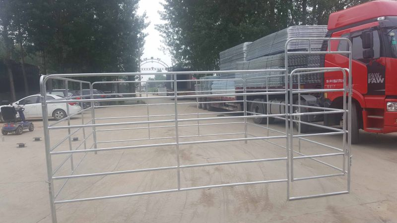 Heavy Duty 12 Foot by 6 Foot High Used Horse Corral Panel
