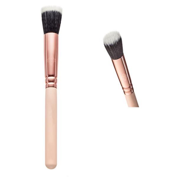 Duo Fibre Stippling Brush with Vegan Bristles (F122-R)