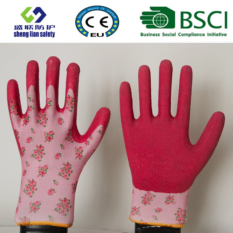 Latex Coated Garden Safety Work Gloves