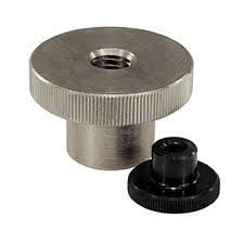 Alloy Steel Knurled Thumb Nuts with Collar DIN466