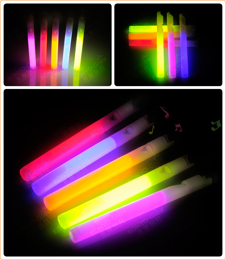 Hot Sale Glow Sticks Funny Whistle