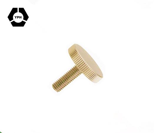 M5 Flat Head Knurled Screw DIN653 Screw