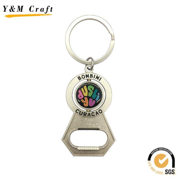 Unique Souvenir Custom Metal Key Ring Bottle Opener