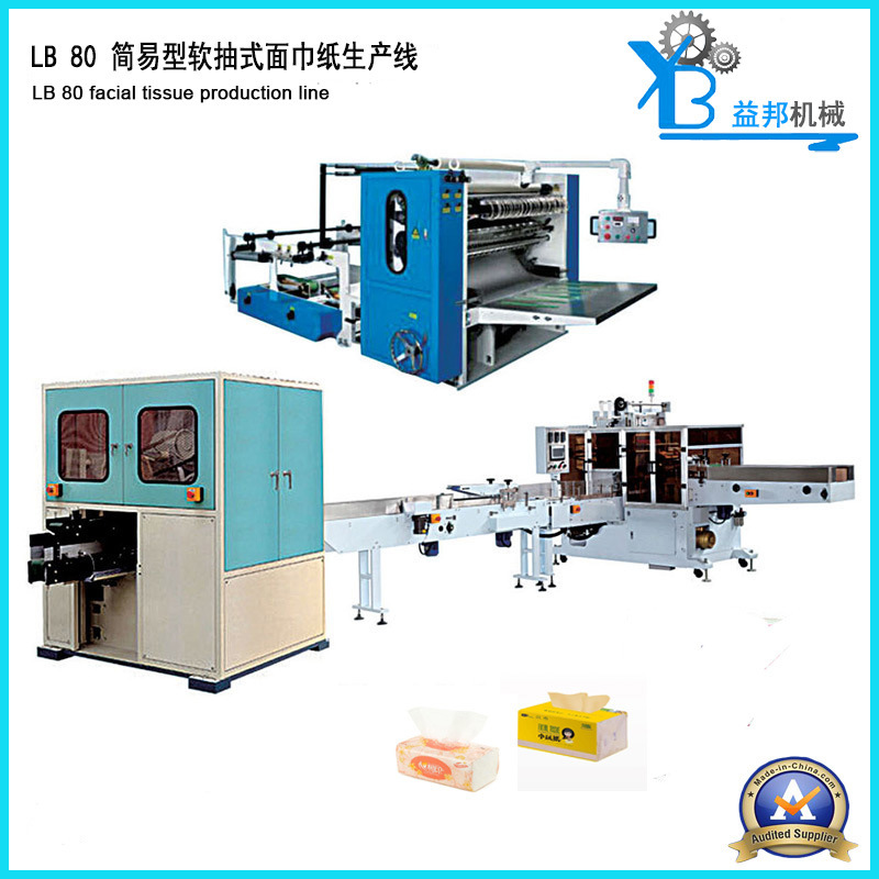 Full-Automatic Facial Tissue Paper Production Line with Good Quality