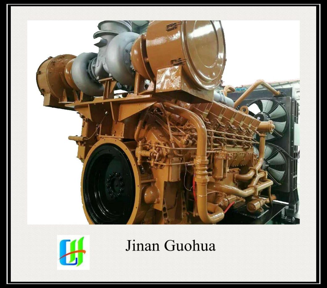 Z12V190b Jichai Chidong 1000HP 800kw Marine Diesel Engine