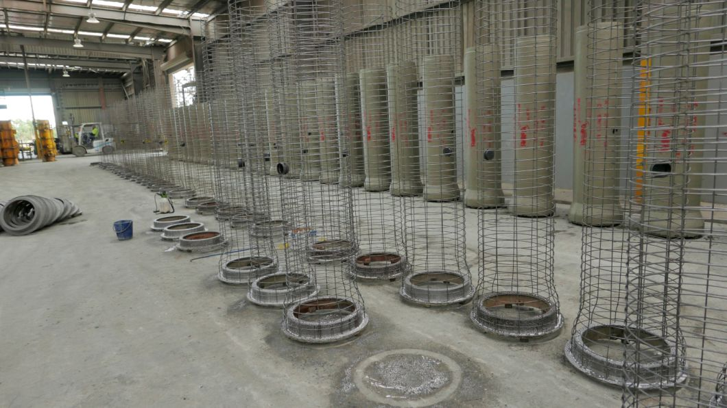 Flush Joint 1800mm Cast Steel Reinforce Cement Pipe Pallet