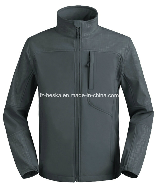 Wholesale Waterproof Breathable Softshell Jacket Men Outdoor Wear