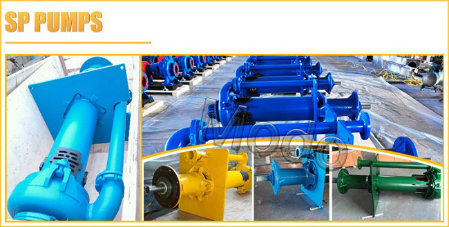 Power Plants Sewage Centrifugal Submerge Slurry Sump Pump