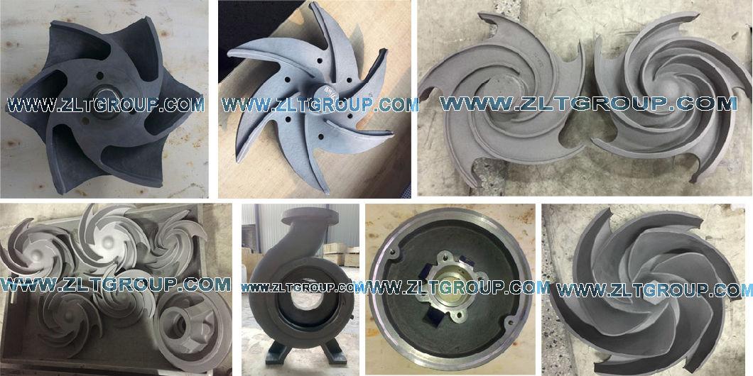 CD4mcun/316 Ss/Titanium Material ANSI Centrifugal Pump Parts
