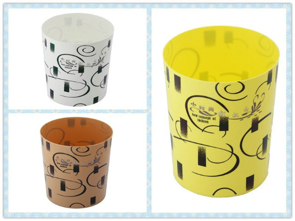 New Concept of Fashion Plastic Waste Bin (FF-5224)