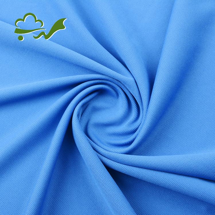 Polyester Polo Fabric