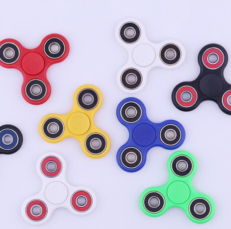 Tri Fidget Spinner Toy LED Light Hand Spinner with Hybrid