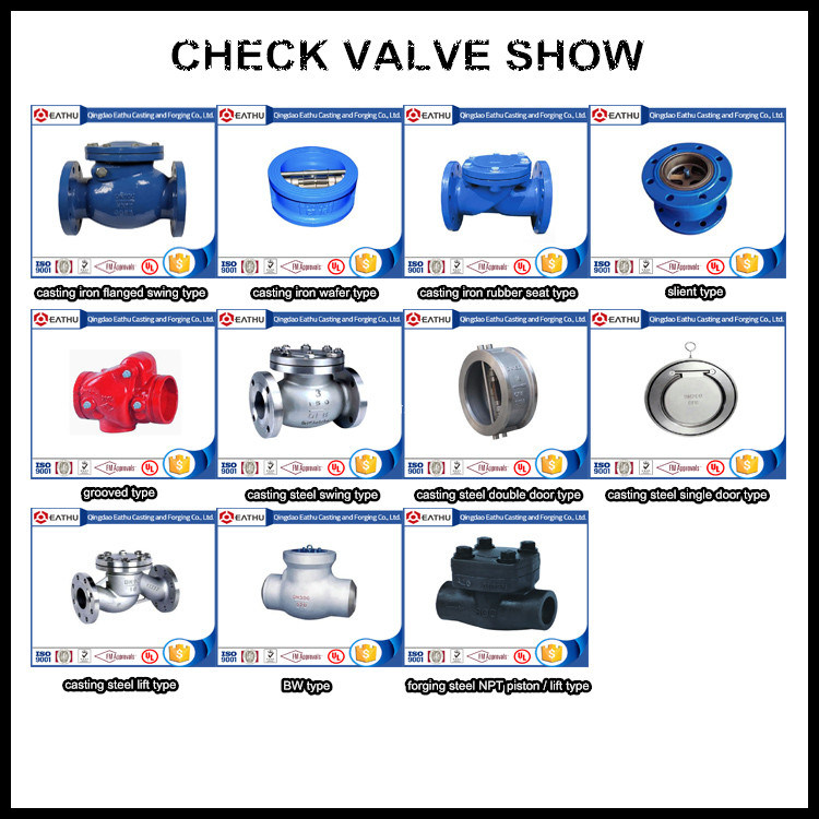 BS En 12334 Ductile Iron Swing Check Valve