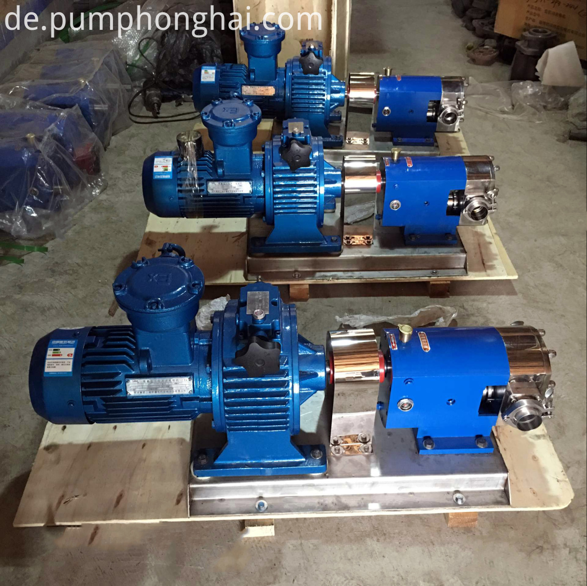 3RP stainless steel pump