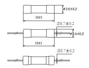 Micro Fuse 3*10 Ceramic Tube Fast-Acting 219 Series