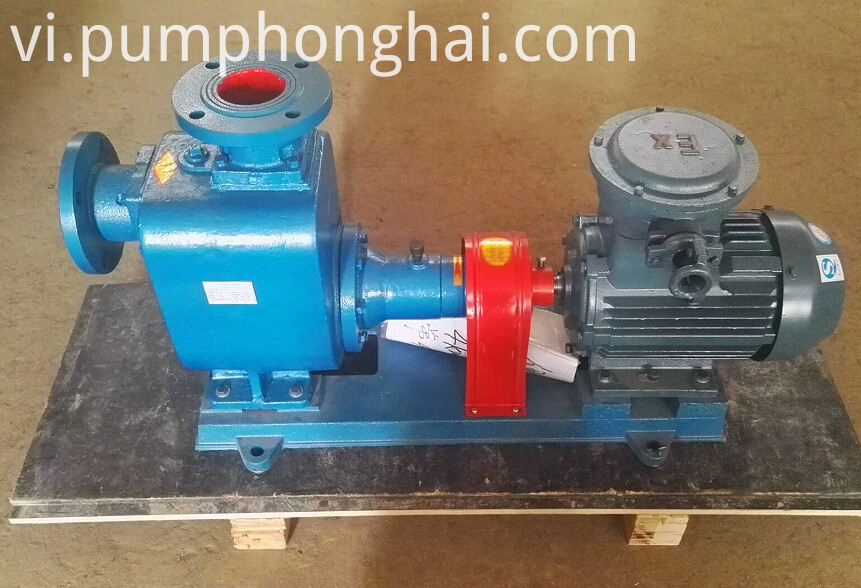 CYZ centrifugal pumps driven by electric motor