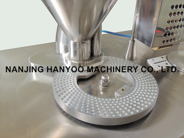 Ce Pharmaceuticals Semi-Automatic Small Capsule Filling Machine for #00, #0, #1, #2, #3 #4 Capsules