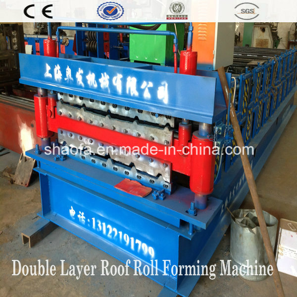 Double Layer Roof Panel Cold Roll Forming Machine (AF-R900/1000)