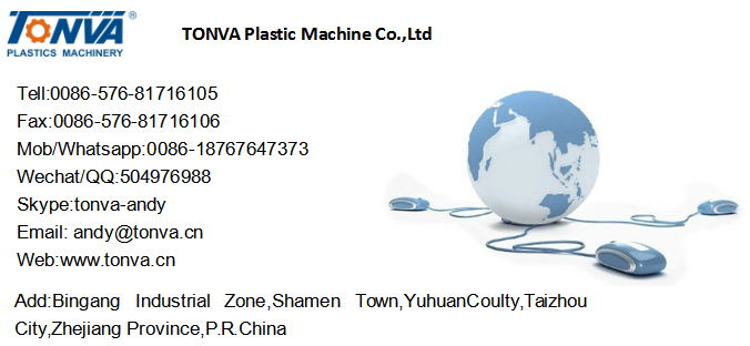 Tonva 2L Machine Make Plastic Pots Blow Moulding Machine