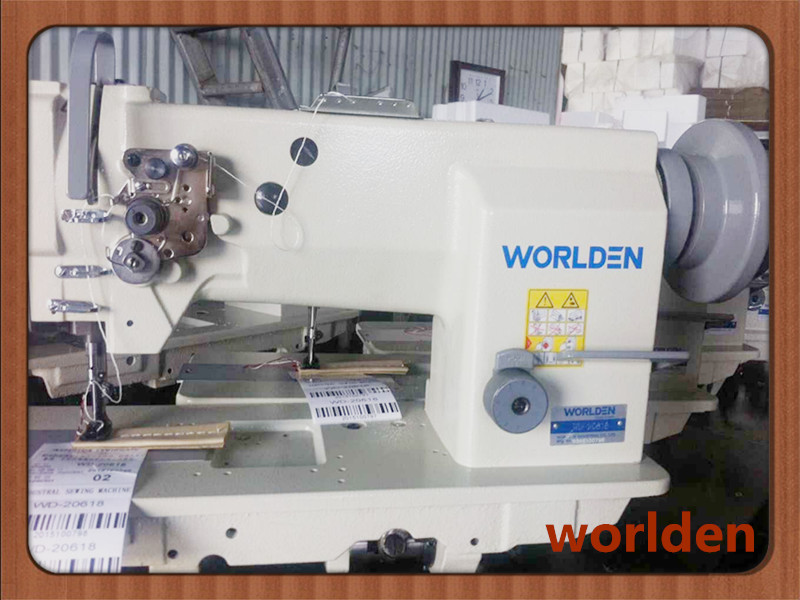 Wd-20618 Heavy Duty Compound Feed Lockstitch Machine