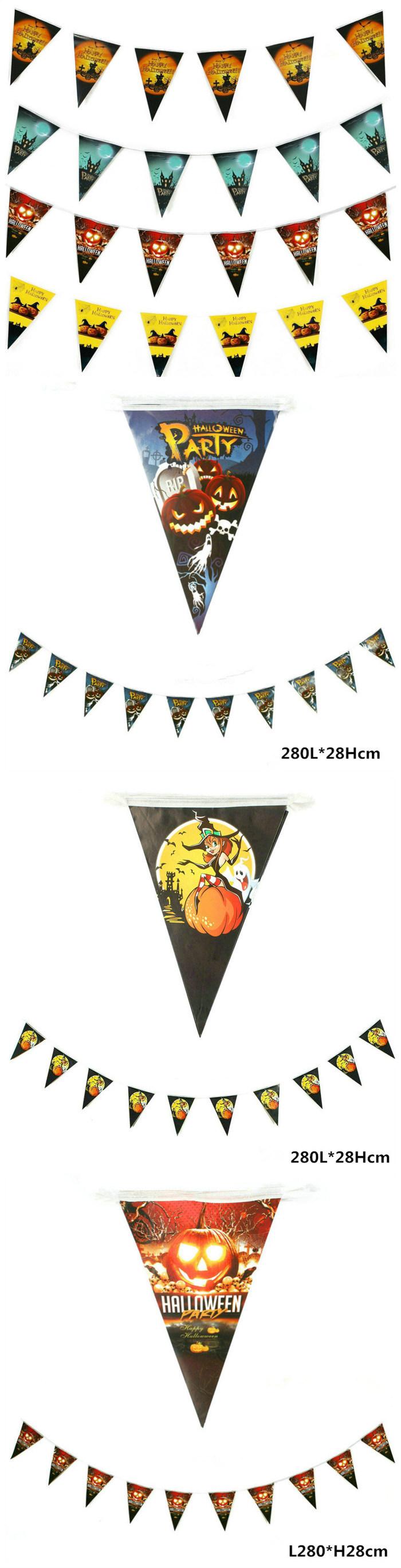 Newly Design Bunting Flag Triangle Cinema Garland for Wedding